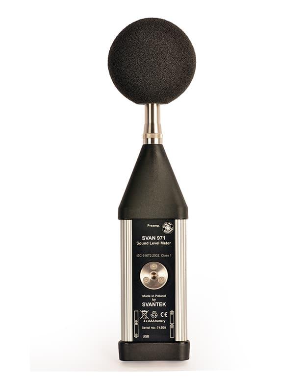 SVAN 971 – Class 1 Sound Level Meter
