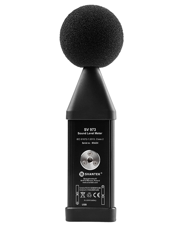 SV 973 – Class 2 Sound Level Meter