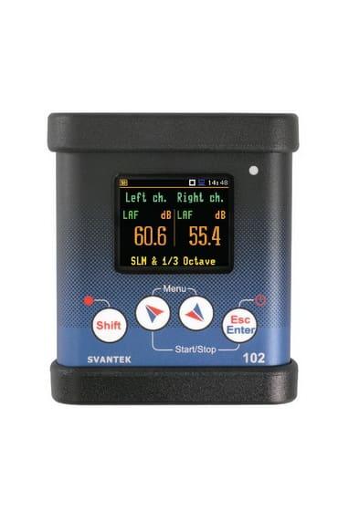 SV 102+ Dual Channel Noise Dosimeter